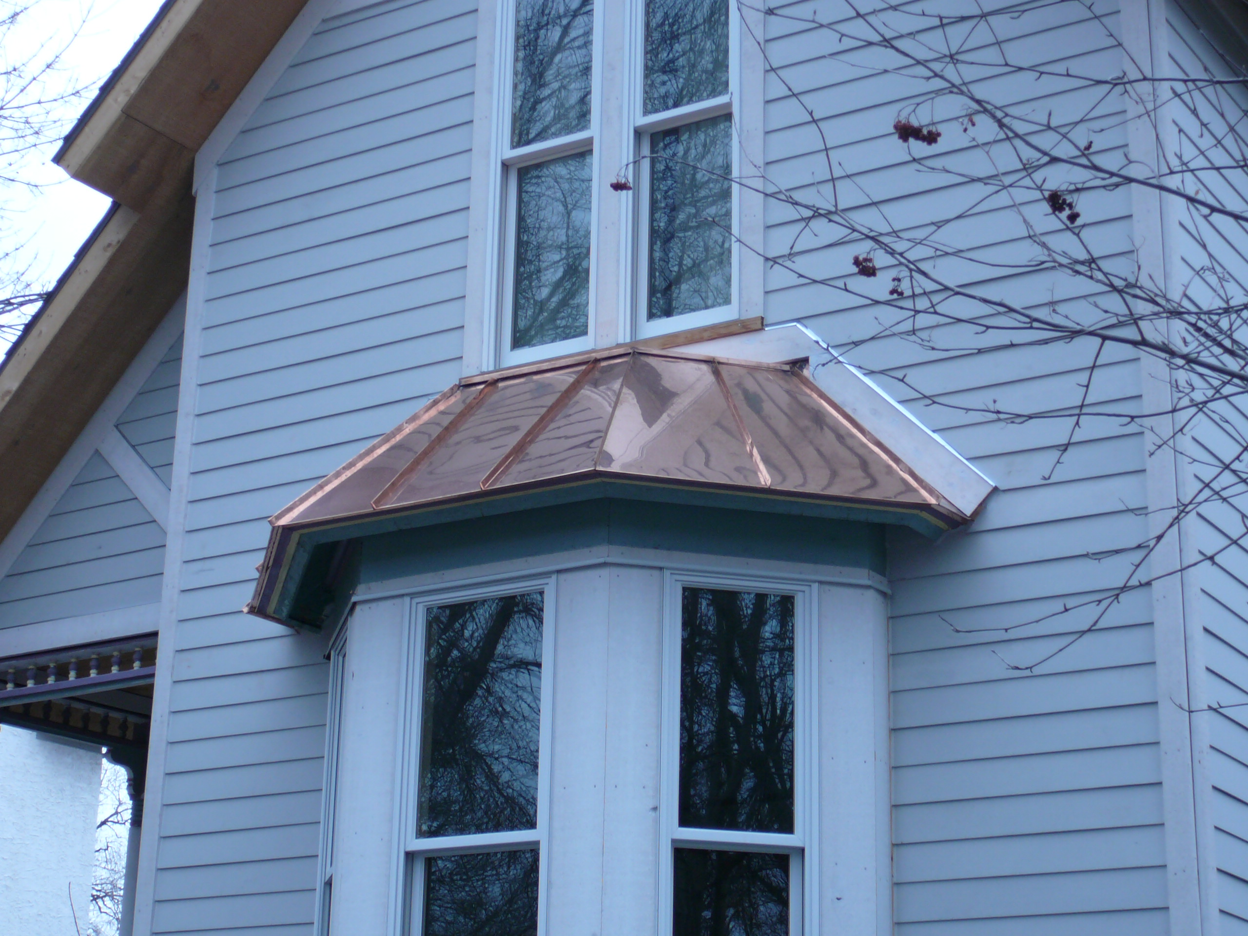 Metal Roof Over Bay Window Cost Tcworks Org