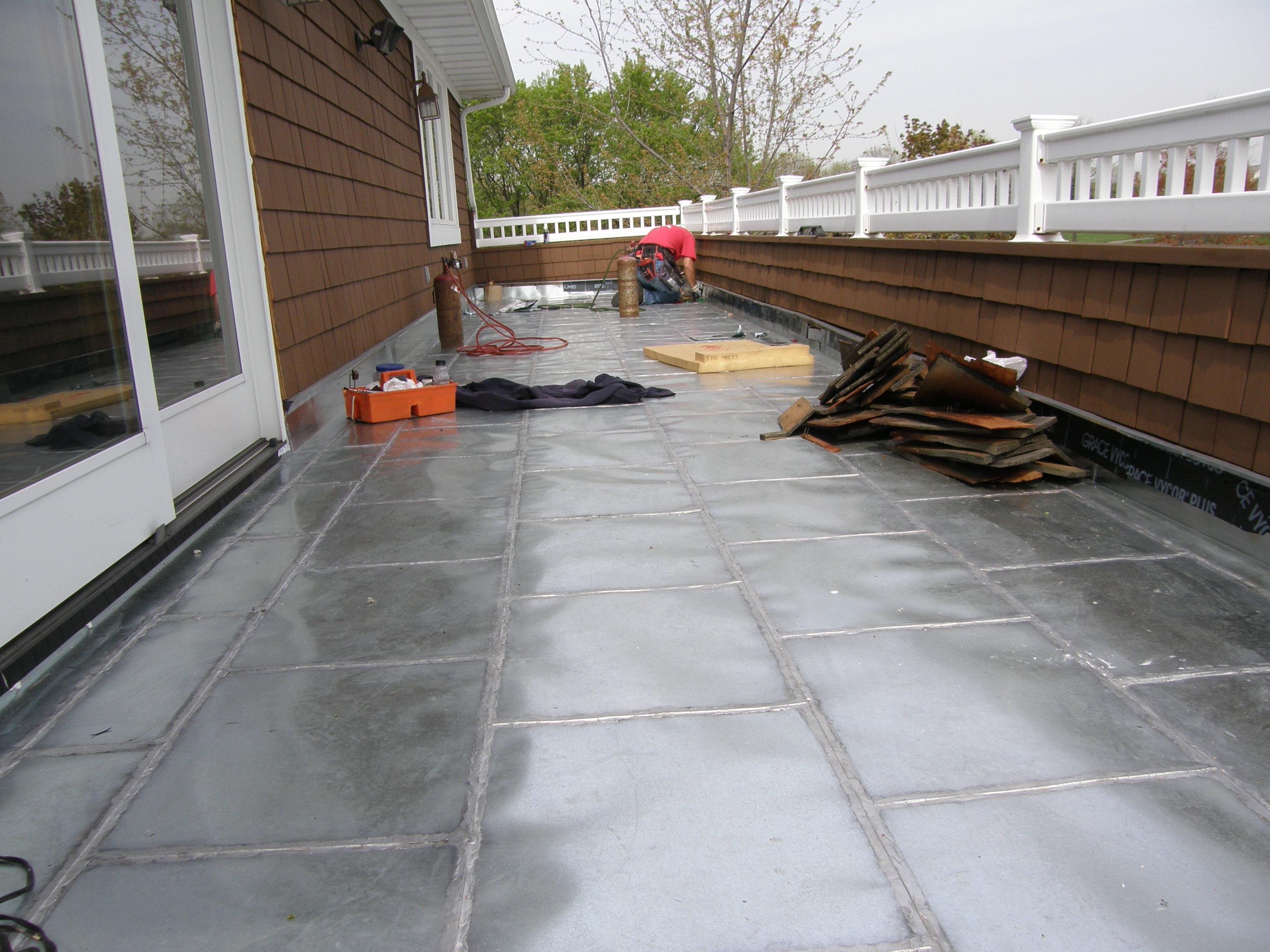 Flat Seam Roofing Sheridan Sheet Metal Co